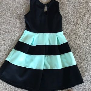 Crystal Doll Dresses - Shirks black and mint dress